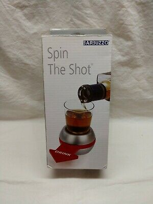 Barbuzzo Spin The Shot Game Spin The Bottle Pointer Bar Game NIB