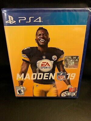 NEW Madden NFL 19 2019 EA Sports PS4 SEALED PlayStation