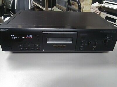 Sony Tc-Ke400S Stereo Cassette Tape Deck Dolby S Player Recorder Tested Working