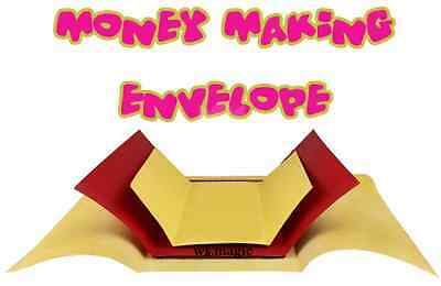 Money Making Envelope 3 times Magic Trick Close Up Street Money Bill Parlor FISM