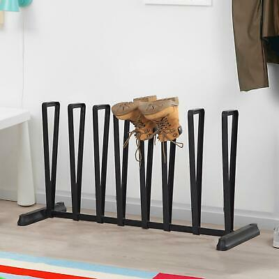 4 Pair Wellington Boot Holder Shoe Rack Welly Boot Storage Holder Organiser