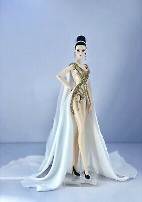 Fahsai Handmade Gown Outfit for Fashion Royalty, FR2, Barbie Model doll FR
