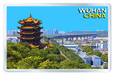 Wuhan China Mod3 Fridge Magnet Souvenir Iman Nevera