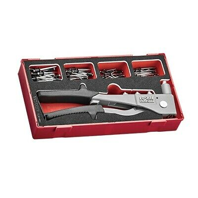 Teng Tools TEAHR81 81 Piece EVA Foam Rivet Gun Set