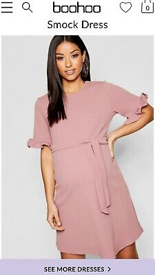 Boohoo Smart Maternity Dress size 8