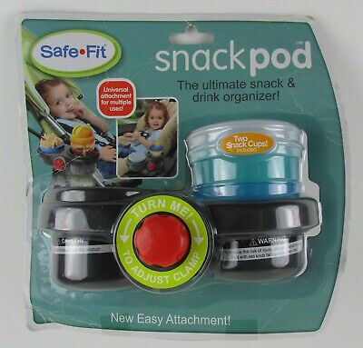 "SafeFit Snack Pod ""The Ultimate Snack & Drink Organizer!"""