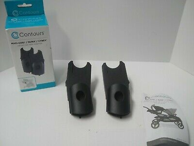 Contours Secure Infant Car Seat Adapter for Maxi-Cosi/Nuna/Cybex Strollers