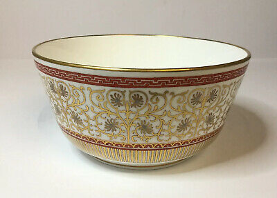 Antique Hand Painted English Porcelain Slop Bowl C.1830 Unidentified Research!