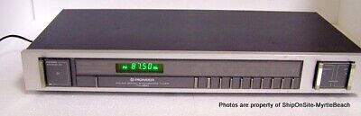 Vintage Pioneer TX-950 FM/AM Digital Synthesized Stereo Tuner