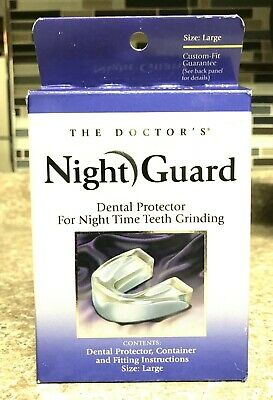 The Doctor's Night Guard Dental Protector for Teeth Grinding  Large - NEW