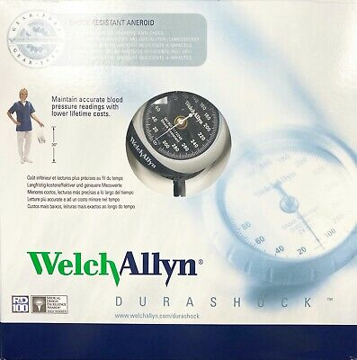 Welch Allyn DS45-11 Durashock Adult Cuff Aneroid Sphygmomanometer New in Box