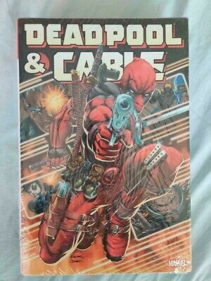 BRAND NEW SEALED Marvel DEADPOOL /& CABLE OMNIBUS #1-50 Hardcover HC