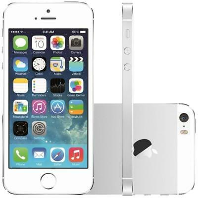 Apple iPhone 5s - 16GB - Silver - Factory Unlocked; AT&T, T-Mobile - Smartphone