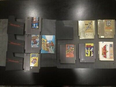 NES Game Lot SUPER MARIO BROS 1 2 3 ZELDA LINK DONKEY KONG TRACY DUCK READ MORE!