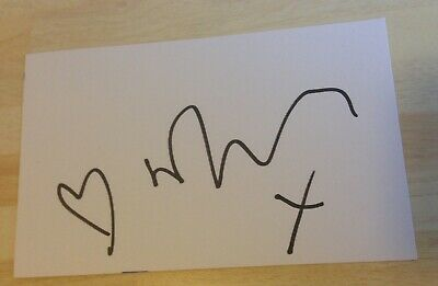 Russell Tovey Autograph BEING HUMAN THE JOB LOT Signed 6x3.7 Card AFTAL