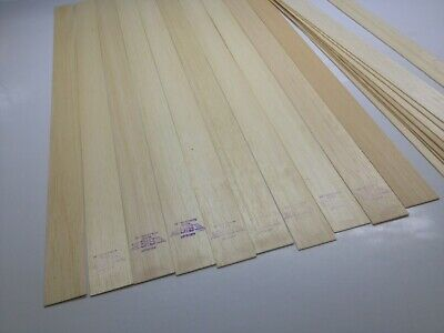 "Free UK Mainland Post Balsa Wood Sheet 3 x 1//2/"" Thick x 3/"" Wide x 36/"" Long"