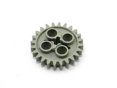 LEGO Technic LIGHT GRAY GEAR 24 TOOTH TEETH robot motor wheel 3648 Later Type.