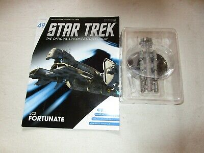 Star Trek Official Starship Collection Number 49 - ECS Fortunate - Free Postage