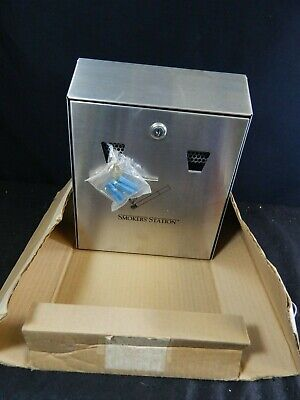 Smokers' Station Outdoor Commercial Ashtray Smoking Receptacle Litter Device