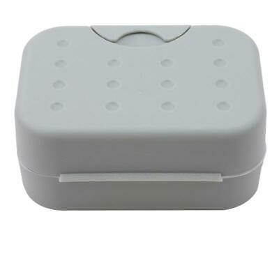 Portable Travel Plastic Soap Dish Waterproof Lock Leak Dish with Lid Container W