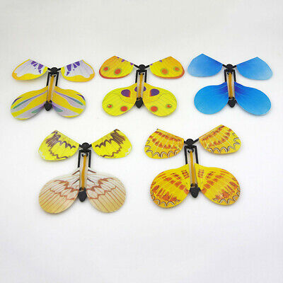 5pcs Plastic Transform Flying Butterfly Cocoon into a Butterfly Trick Prop Magic