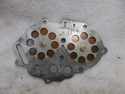 Johnson Outboard Boat Motor / 1966 20 HP FD 20 / Reed Valve Plate Assembly