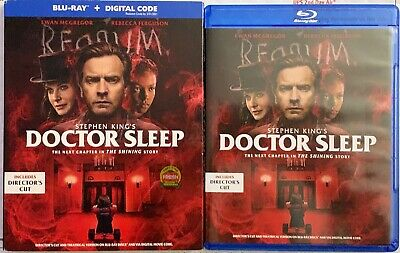 Stephen King's Doctor Sleep Directors Cut Blu Ray 2 Disc Set + Slipcover Sleeve