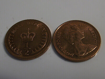 HALF PENCE COIN Select Year Decimal 1/2 Penny 1971-1983