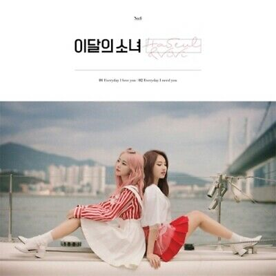 Monthly Girl Loona-[Haseul&ViVi] Single Reissue Album CD+Book+PhotoCard+Tracking