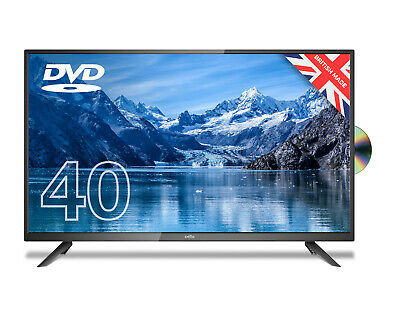 """CELLO 40"""" LED TV WITH BUILT IN DVD PLAYER FULL HD 1080P FREEVIEW HD 3 x HDMI,USB"""