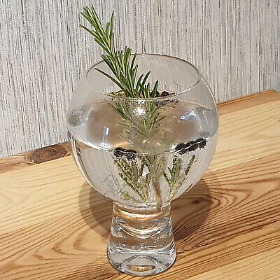 Set of 2 500ml Large Gin & Tonic Glasses Thick Stem Cocktail G&T Balloons Copas