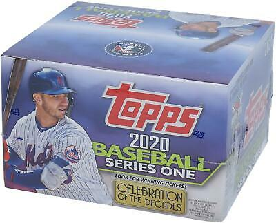 2020 Topps Baseball Series 1 Retail Edition Factory Sealed 24 Pack Box