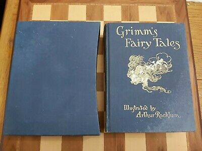 Grimm's Fairy Tales Illustrated by Arthur Rackham Printed by The Folio Society