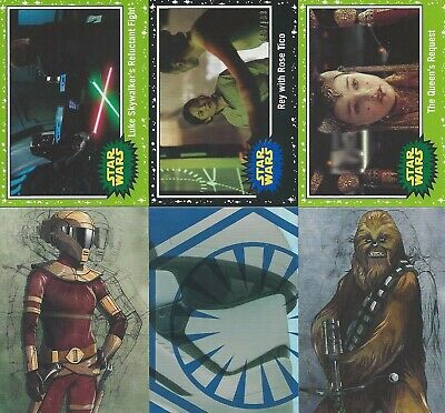 2019 Topps Star Wars Journey to Rise of Skywalker- Base, Inserts, Parallels
