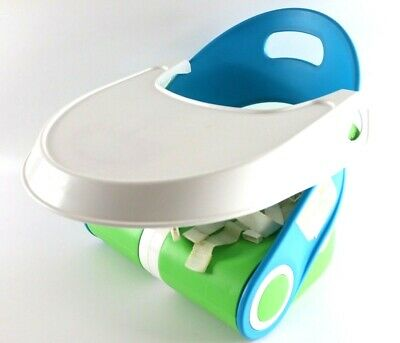 Baby Toddler Feeding Booster Seat Dining Home Travel Portable Safety Used