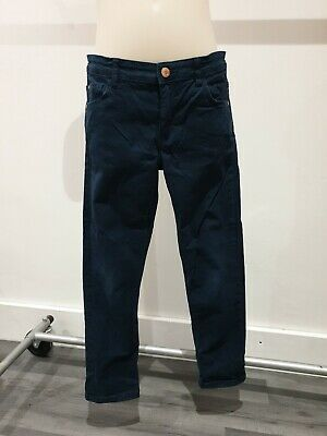 Boys Navy Chinos, H&M, Age 8-9 Years