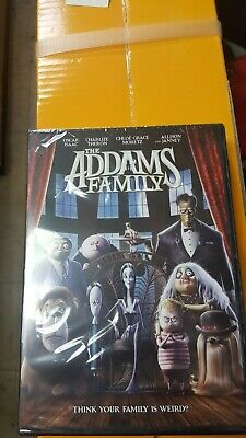The Addams Family (2019) Dvd