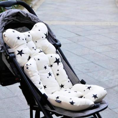 Stroller Pad Baby Seat Pillow Cover Car Set Printed  Warm Cushion Pad Mattress