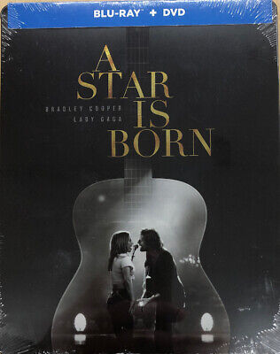 Star Is Born (Blu-ray + DVD; 2019) Steelbook Edition Brand New Sealed