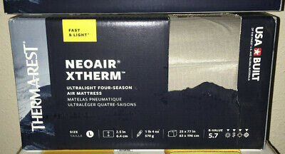 Thermarest NeoAir Xtherm Vapour Sleeping Pad Inflatable Mattress - Large