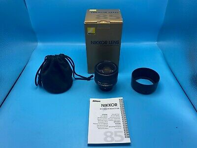 Nikon AFS 85mm 1.8G lens! USPS 2-3 days w/ tracking + insurance!!!!!!!!!!!