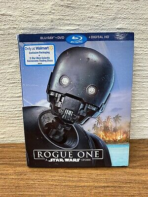 NEW Rogue One: A Star Wars Story (Blu-ray + DVD) Sealed