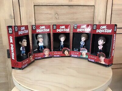 One Direction Miniature Dolls Complete Set.