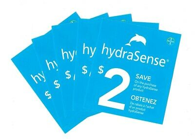 8 x Save $2.00 on HydraSense Good on Any Products May 31 2020 Coups (Canada)