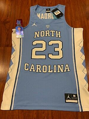 Jordan Men's Authentic North Carolina UNC Heels Michael Jordan Jersey Medium M