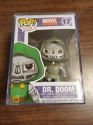 Funko Pop Dr. Doom Vinyl Figure #17 Marvel Comics Fantastic Four