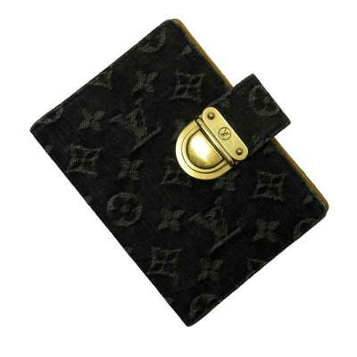 Auth Louis Vuitton Monogram Denim Agenda PM Koala Agenda Cover R21038 - 51159