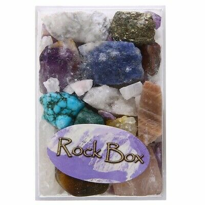 Natural Collection Crafters Rock Collection Mix Gems Crystal Mineral Specimens