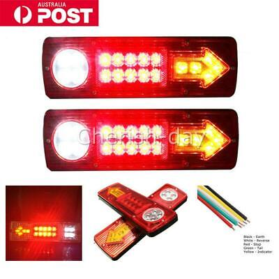 LED TRAILER TAIL LIGHTS TRUCK CARAVAN UTE BOAT LIGHT STOP INDICATOR Waterproof Z