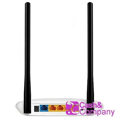 TP link Router TP-Link 802.11 N 300 Mbps MIMO 2T2R 2 antenas #1242